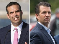 Donald Trump Jr. and George P. Bush.