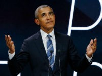 FILE - In this Saturday, Dec. 2, 2017, file photo, former U.S. President Barack Obama arrives on stage prior to delivering a speech in Paris. Carter Wilkerson, a guy with an insatiable appetite for chicken nuggets, and Obama are among the most retweeted tweets of the year. On Tuesday, Dec. …