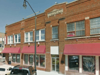 Google maps screenshot of the building on South Steele Street in Sanford, N.C. that contains the Sanford Latin Dance Studio.