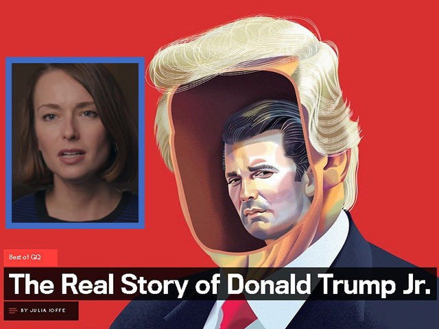 GQ author Julia Ioffe and her story on Donald Trump Jr. for the lifestyle magazine.