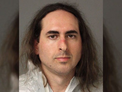 Mugshot of Jarrod Ramos, suspect in the mass shooting at the offices of the Annapolis Capital Gazette newspaper.