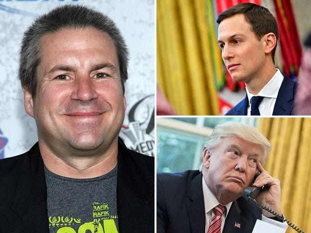 "Comedian ""Stuttering John"" Melendez, who successfully prank called Donald Trump's White House."