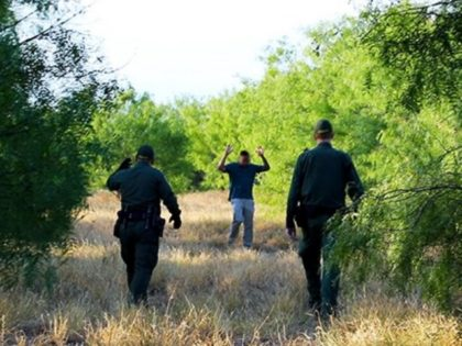 Border Patrol agents in Laredo Sector find lost migrant on a ranch near Laredo, Texas. (Photo: U.S. Border Patrol/Laredo Sector)