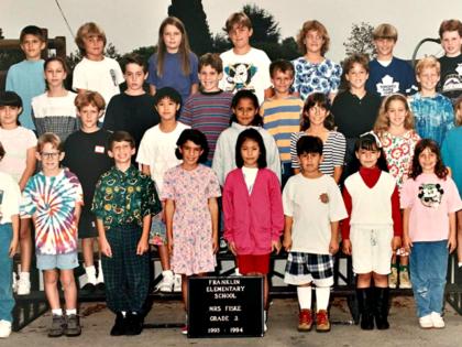 Stephen Miller 3rd Grade Class Photo