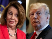 Nancy Pelosi and Donald Trump