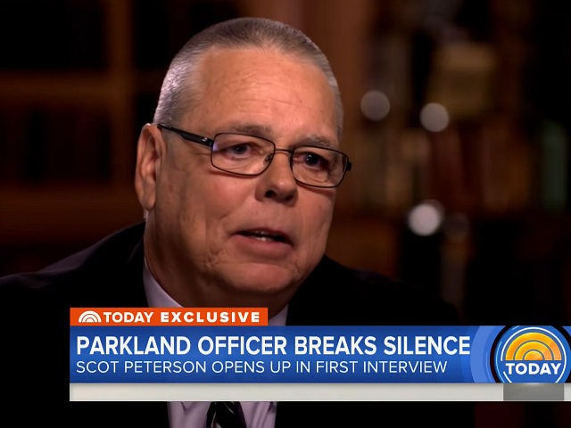 Parkland Cop Scot Peterson Speaks, Parents Outraged