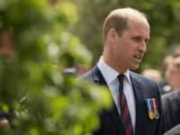 Prince William, Duke of Cambridge speaks with local National Health Service (NHS) representatives following the official handover of the newly built Defence and National Rehabilitation Centre (DNRC) at the Stanford Hall Estate on June 21, 2018 in Leeds, England. The centre will provide world-class rehabilitation facilities for members of the …