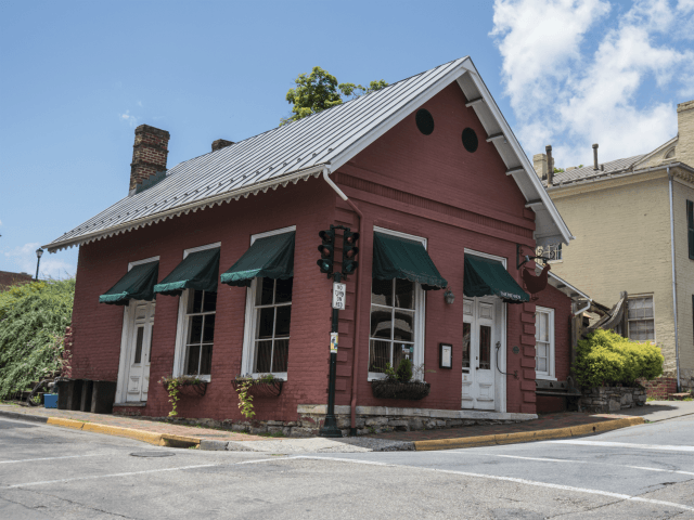 This Saturday, June 23, 2018 photo shows the Red Hen Restaurant in downtown Lexington, Va. White House press secretary Sarah Huckabee Sanders said Saturday in a tweet that she was booted from the Virginia restaurant because she works for President Donald Trump. Sanders said she was told by the owner …