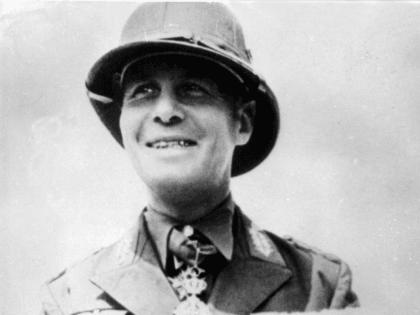 Undated file picture of German World War II field marshal Erwin Rommel. (AP-Photo)