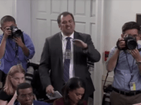 CNN analyst and Playboy reporter Brian Karem melted down over the issue of immigration Wednesday at the White House briefing.