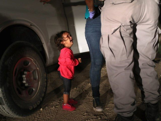 so called separated family - getty images - john moore