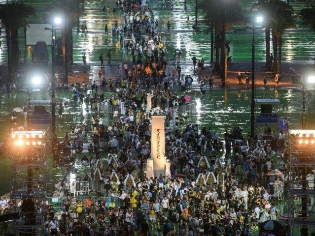 Hong Kong Holds Massive Vigil for Tiananmen Square Anniversary