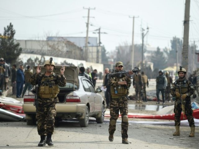 At least seven dead in Kabul suicide blast near clerics' gathering