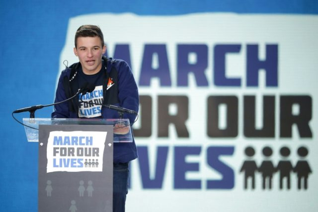 Florida survivors of school gun massacre to hit the road for arms control