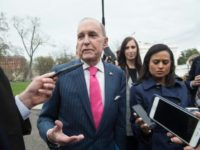 Larry Kudlow, Director of the National Economic Council, pictured here at the White House on April 4, 2018