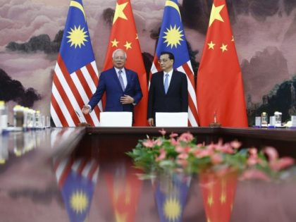 Former Malaysian leader Najib Razak insisted in a statement late Tuesday there was no wrongdoing in the pipeline project, saying he and Chinese Premier Li Keqiang witnessed the signing of memoranda of understanding for the deal in Beijing in 2017