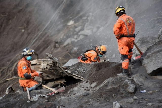 The known death toll from the Fuego volcano's eruption stands at 109, with nearly 200 missing