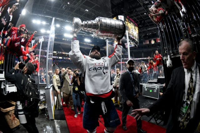 Capitals beat Knights to capture first Stanley Cup title
