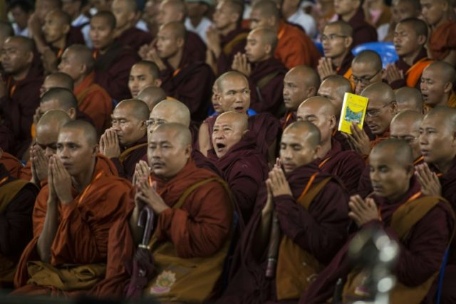 Facebook has banned the Buddhist nationalist movement Ma Ba Tha from its platform