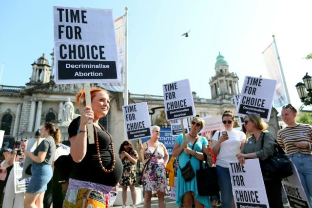 Britain's top court says cannot rule on Northern Ireland abortion law