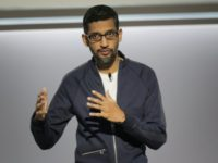 Sundar Pichai, chief executive officer of Google, said the US tech giant would avoid any artificial intelligence applications for weapons as he unveiled a set of principles for the technologies