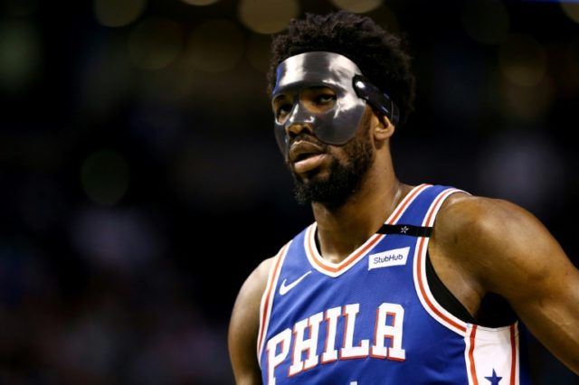 Joel Embiid was one of Philadelphia 76ers stars criticized on the Twitter accounts run by the wife of the club executive Bryan Colangelo.