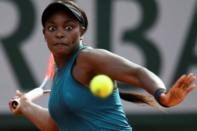 Eyes on the prize: Sloane Stephens is only one match from a second Grand Slam title