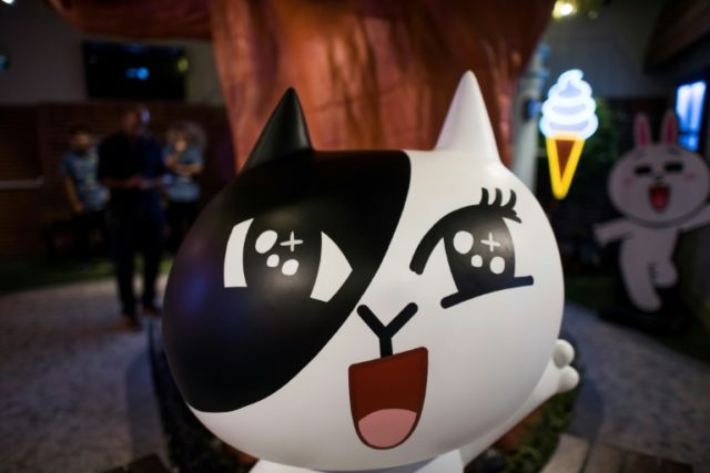 Nearly two thirds of Thailand's 68 million people use Line