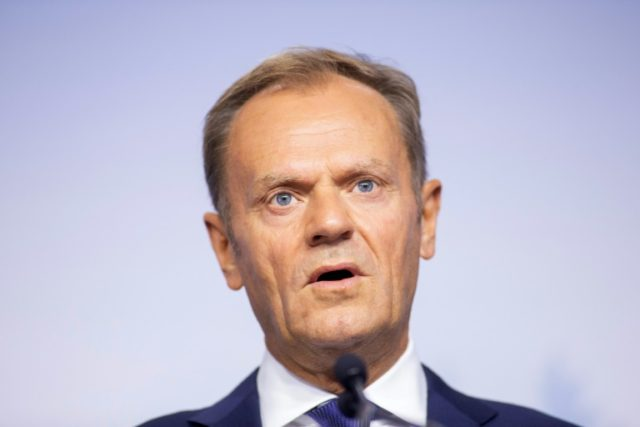 President of the European Council Donald Tusk warns that Trump poses challenge to rule-based international order