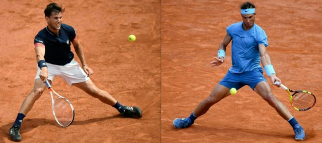 Sunday best: Dominic Thiem and Rafael Nadal