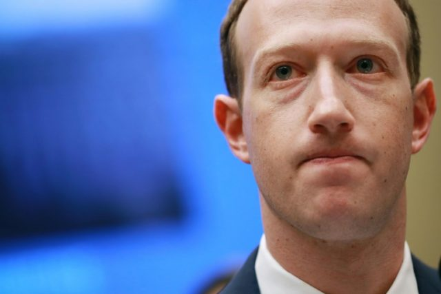 """Prime Minister Malcolm Turnbull would """"love"""" Facebook boss Mark Zuckerberg -- seen here at the US Congress -- to be grilled by Australian lawmakers"""