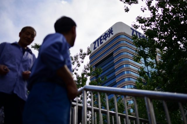 Under the latest deal ZTE will pay a $1 billion penalty and put another $400 million in escrow to cover possible future violations