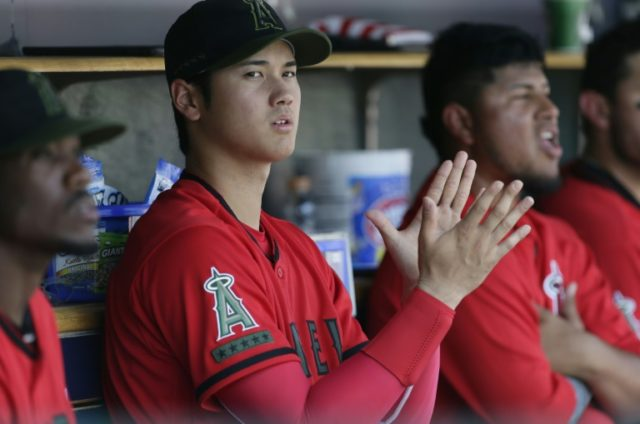 Shohei Ohtani, who has electrified Major League Baseball this season with his two-way pitching and hitting form, has suffered sprained elbow ligaments