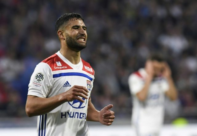 Nabil Fekir's future at Lyon has been the subject of animated debate.