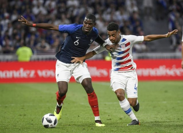 Paul Pogba was jeered on his last France appearance but created their goal against the US