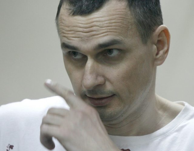 Ukrainian film director Oleg Sentsov has been on hunger strike since May 14