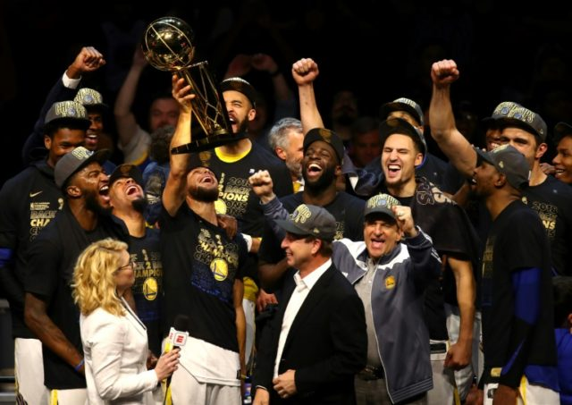 The Golden State Warriors inflicted the first 4-0 NBA Finals blanking since the Cavaliers were swept by San Antonio in 2007