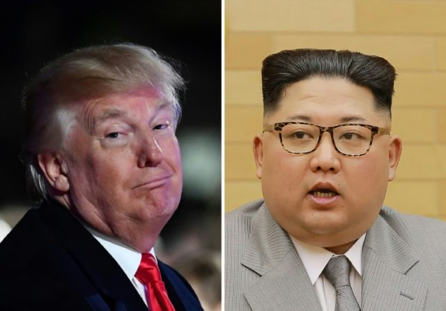US President Donald Trump and North Korean leader Kim Jong Un traded personal insults only months ago