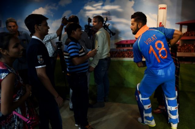 The new wax statue of Indian cricketer Virat Kohli required a partial ear replacement after being swamped by star-struck fans at Madame Tussauds in Delhi