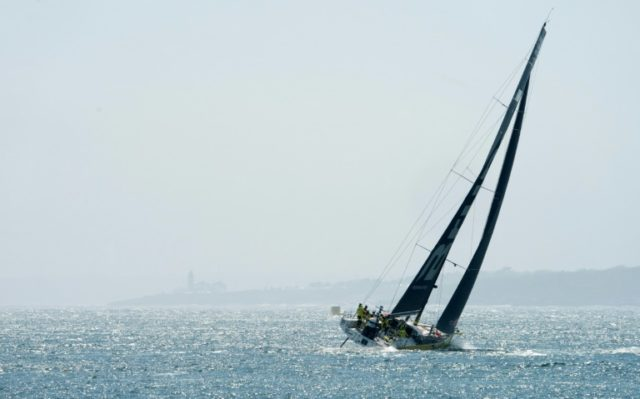 Team Brunel won leg nine of the Volvo Ocean Race from Newport, Rhode Island, to Cardiff to close in on the two leaders.