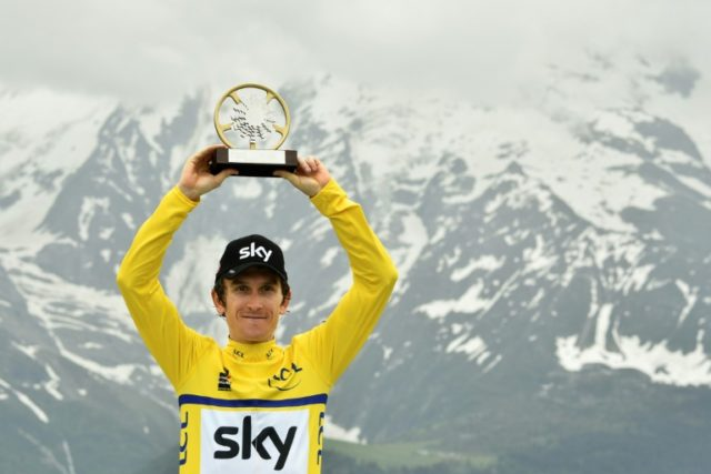 Welsh rider Geraint Thomas supplied Team Sky with their sixth Criterium du Dauphine success in the past eight years on Sunday