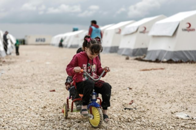 The number of people internally displaced in Syria is 6.2 million according to UN figures