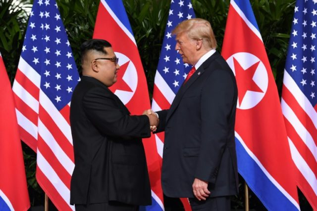 North Korean leader Kim Jong Un and US President Donald Trump made history with the handshake