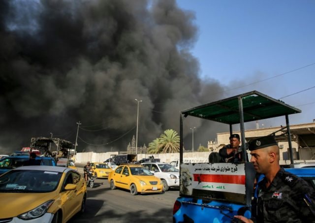 The Iraqi interior minister has said that a fire which ripped through the country's biggest ballot warehouse ahead of a vote recount was 'deliberate'