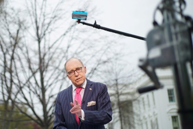 US National Economic Council Director Larry Kudlow has suffered a heart attack, according to President Donald Trump