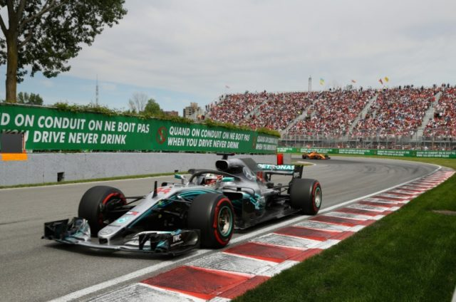 Lewis Hamilton said he was frightened the engine on his Mercedes would blow during the Canadian Grand Prix.