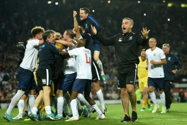 """Robbie Williams will fulfil """"a boyhood dream"""" when singing at the World Cup opening ceremony on Thursday"""