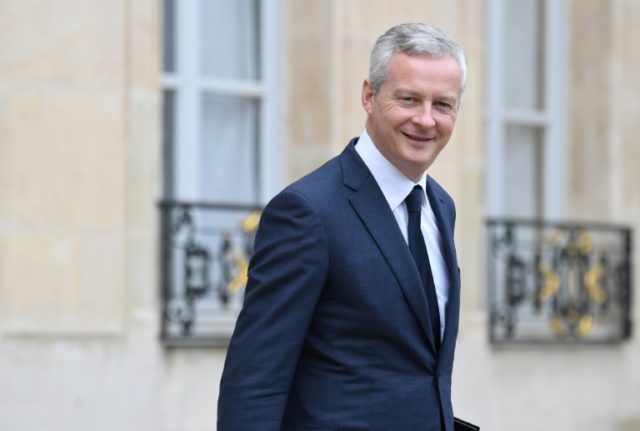 """French Economy Minister Bruno Le Maire, pictured on June 6, 2018, announced """"significant progress"""" towards a compromise on wider eurozone reforms"""