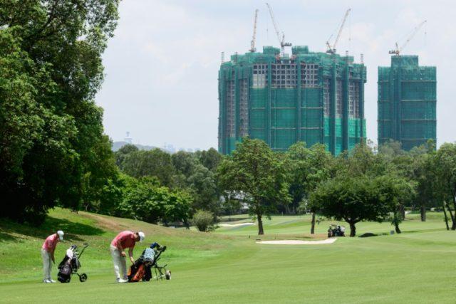 Hong Kong golf course row exposes city's social divide