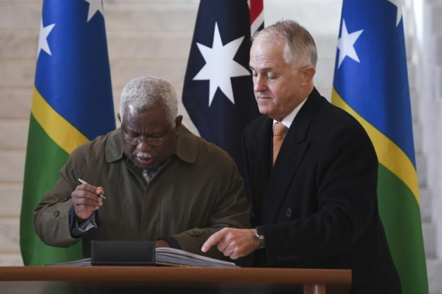 "The impoverished Solomon Islands and Huawei inked a deal in late 2016 to construct the fibre-optic cable to Honiara to improve its often unreliable internet and phone services -- but had a ""change of heart"" after Australia raised concerns"